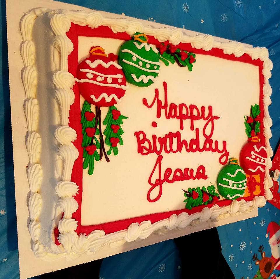 Awe Inspiring Happy Birthday Jesus Cake Bread Of Life Funny Birthday Cards Online Overcheapnameinfo