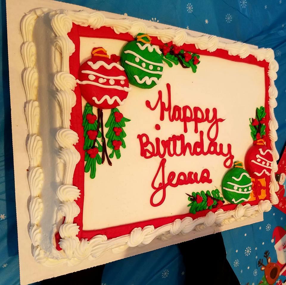Happy Birthday Jesus Cake Bread Of Life